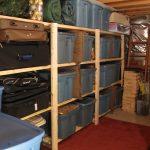 easy basement shelving ideas