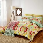 colorful jaipur bedcover