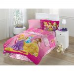 Pink Disney Princess Twin Bedding Set