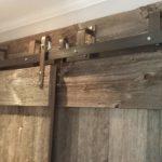 Rustic Grey Steel Sliding Door