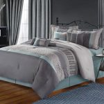 Teal Wooden With Grey Teal Pink Bedding