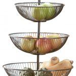 Three Basket Serving Stand