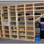 wooden simple shelf