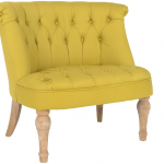 Yellow High Rest One And A Half Chair