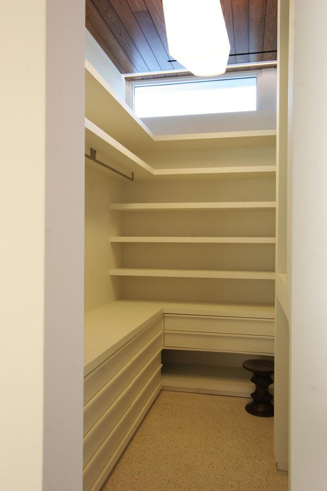 L shape closet organizer in small size