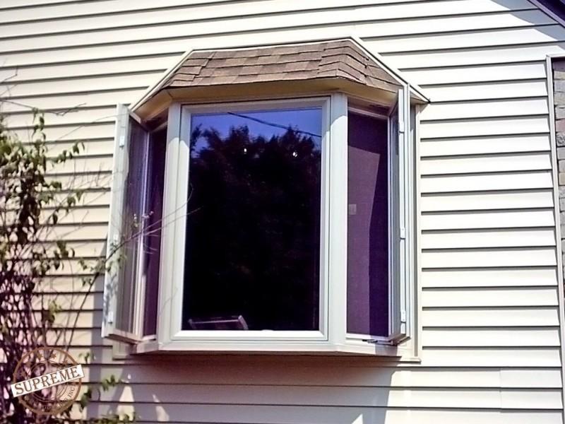 a bay window as the exterior window idea