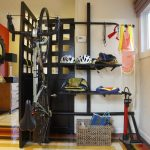 bike rack for apartment folding screen storage room window helmet floor patterns lamp bags basket