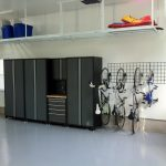 Bike Rack For Apartment Overhead Storage Cabinets Metal Wall Rack Door Broom Utility Box Ceiling Lamp