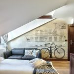 Bike Rack For Apartment Sofa Bed Pillows Storage Bicycle Wall Decor Door Wood White Bedroom Window Curtain