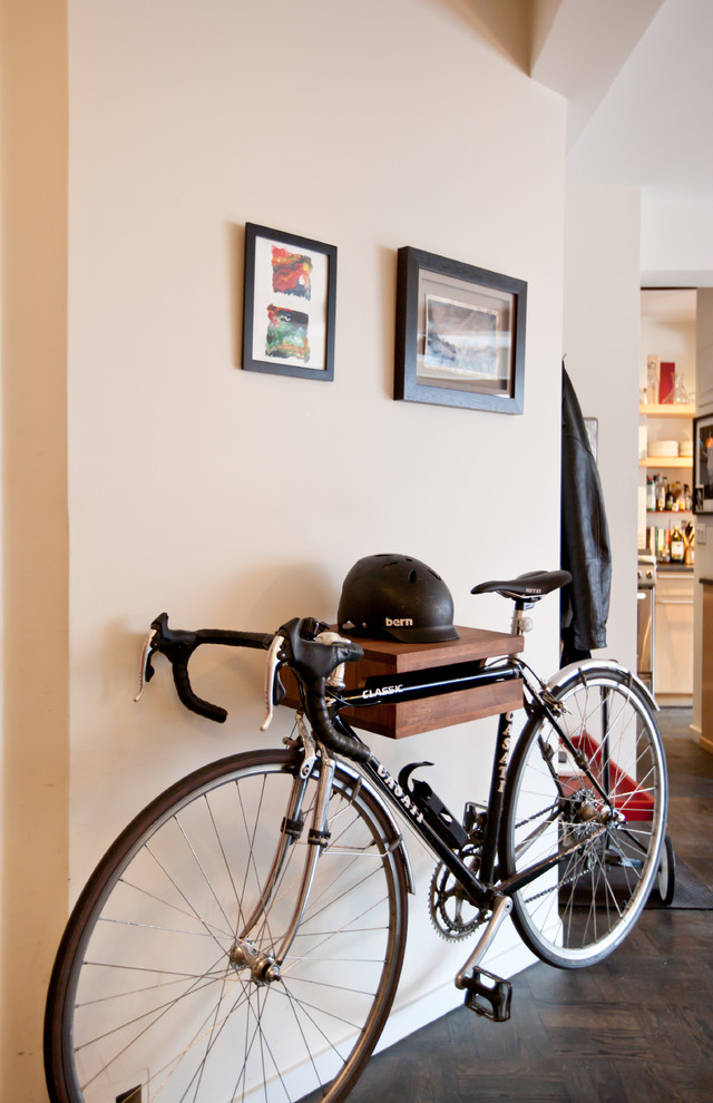 bike rack for apartment wall decor wall rack bicycle light color floor corridor varied items clothing wheels