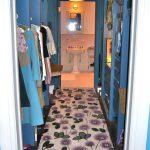 Blue Decorative Closet Flower Patterned Rug Splendid Hanging Lights