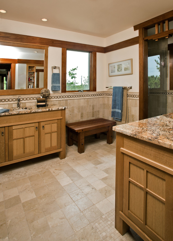 craftsman bathroom tile craftsman style bathroom with tiles and 12574