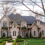 hill country house plans doors windows glass roof park brick exterior traditional style elegant design