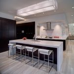 kitchen flooring modern style awesome ceiling lamp modern dining chairs table sink faucet appliances