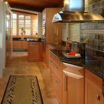 Kitchen Flooring Natural Stone Small Carpet Window Cabinet Cooking Equipment Countertop Wall Tile Lighting