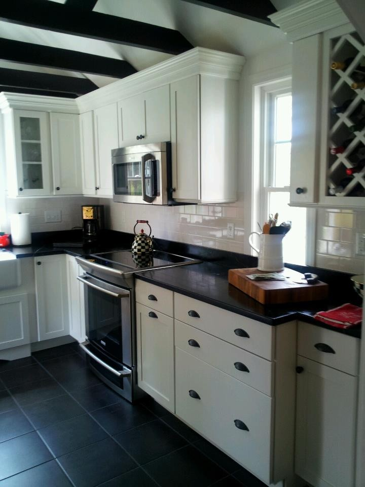 white kitchen cabinets show dirt bright white and black on the kitchen decohoms 28922