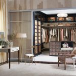 Maser Walk In Closet Organizer With Clear Acrylic Sliding Door Some Unique Furniture