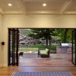 Modern Bi Fold Door Black Frame