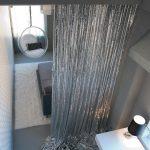 Silver Metalic Sequin Cloth Curtain