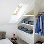Small Corner Wardrobe Closet Organizer Idea In White Small Sized Skylight Small Side Table