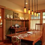 table cloth for wood dining room table chairs wood table hanging lamps windows glass curtains drawers