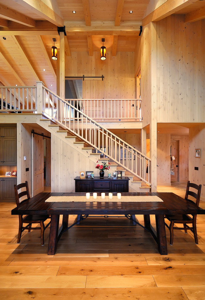 table cloth for wood dining room table wood floor chairs table stairs hanging lamps wooden wall ceiling
