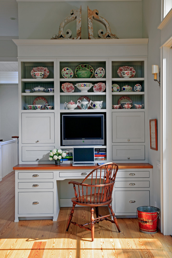 tv display decoration wood floor chair cabinets books bucket wall lamp kitchen flowers shelves