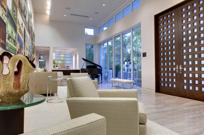 unique steel doors sofas bench wood doors steel and glass door ceiling lamp table wall decor glass top modern lighting