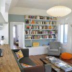 White Long Wall Mounted Book Shelves