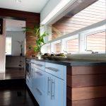 Window Outside Finishing Designs Wood Wall Wood Floor Glass Cabinets Plant Ceiling Lamp Long Window