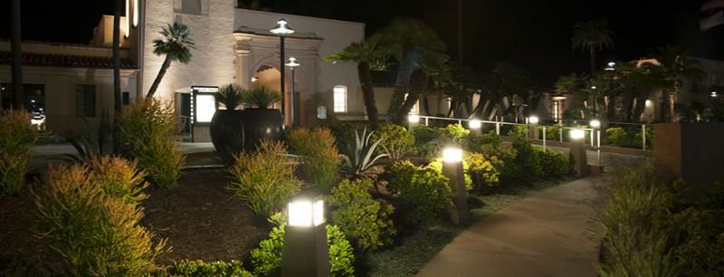 Wayne Tyler bollard light for driveway lighting