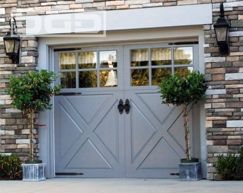 barn style garage glass window garage white garage window shutter brick wall outdoor lights