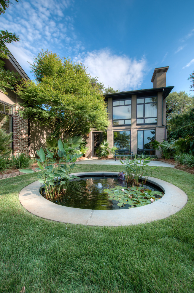 beautiful home gardens with fountains grass underwater fountain plants contemporary landscape