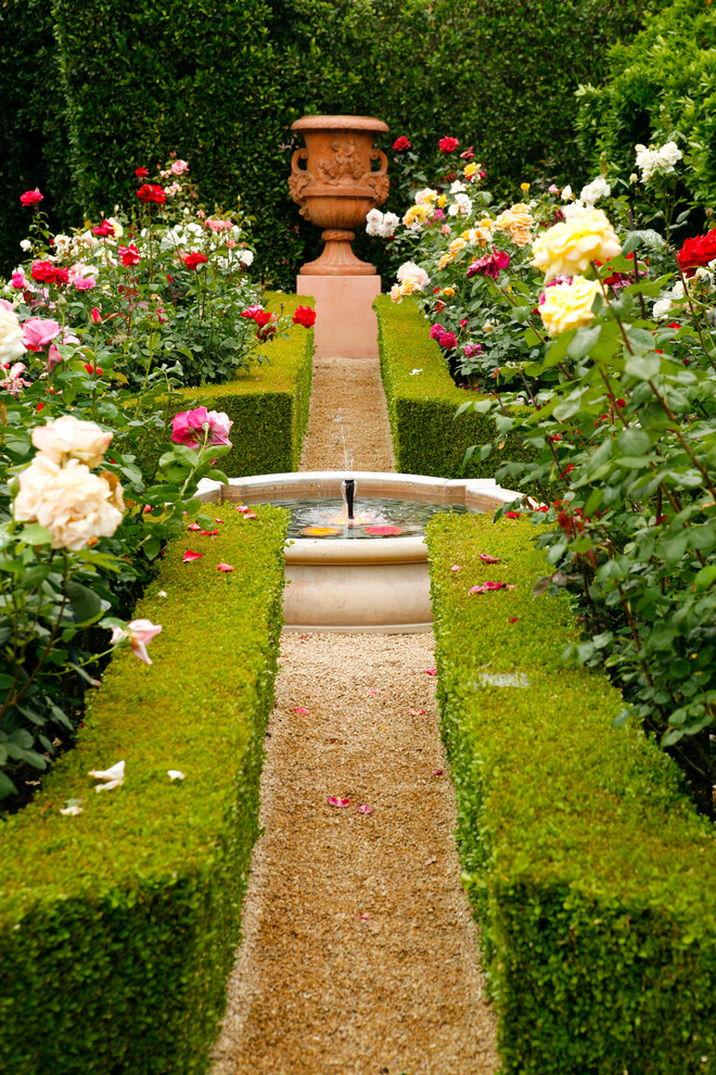 beautiful home gardens with fountains pathway plants fountain roses mediterranean landscape
