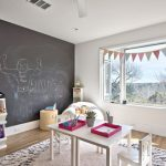 Children Room Scandinavian Furniture Austin Triangle Flags Soft Thick Rug Toys Storage Blackboard Wall Creative Table Lazy Couch