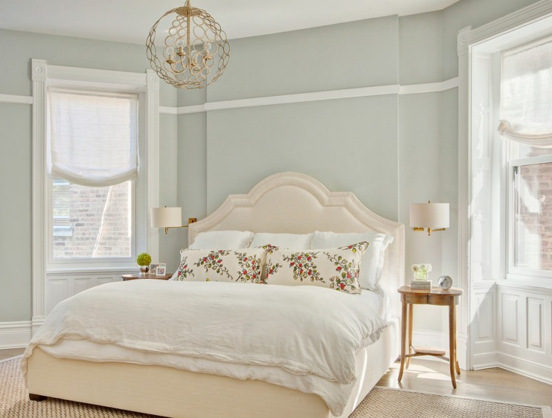 colour for walls in bedroom bed pillows windows chandelier small table lamp carpet traditional bedroom