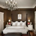 Colour For Walls In Bedroom Carpet Bed Pillows Brown Wall Chandelier Traditional Bedroom Drawers Flowers Lamps Ceiling Lights