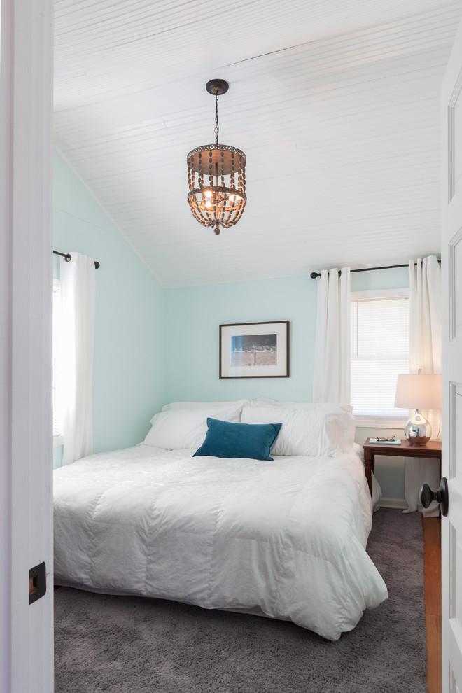 colour for walls in bedroom carpet bed pillows windows curtains small table lamp beach style bedroom