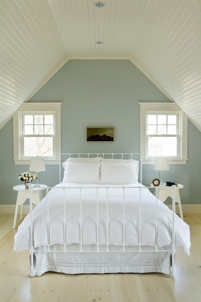 colour for walls in bedroom light blue wall bed pillows flowers table window beach style room ceiling lights