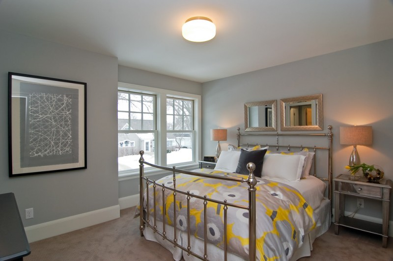 colour for walls in bedroom table lamps painting window bed pillows ceiling transitional bedroom mirror