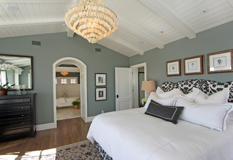 colour for walls in bedrooms mirror flowers drawers carpet bed pillows traditional bedroom gray wall chandelier bathtub lamps wood floor