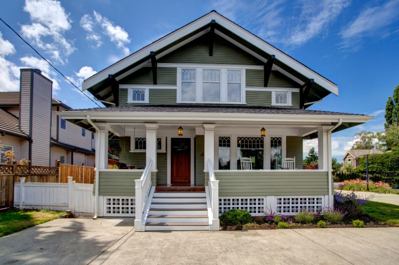 craftsman house skirt in white grey railing system made of light metal siding white exterior stairs white exterior furniture set
