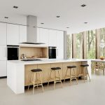 modern kitchen cupboard designs dining chairs table ceiling lamps scandinavian kitchen