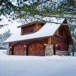 modern simple wooden house windows wood walls door lighting rustic look