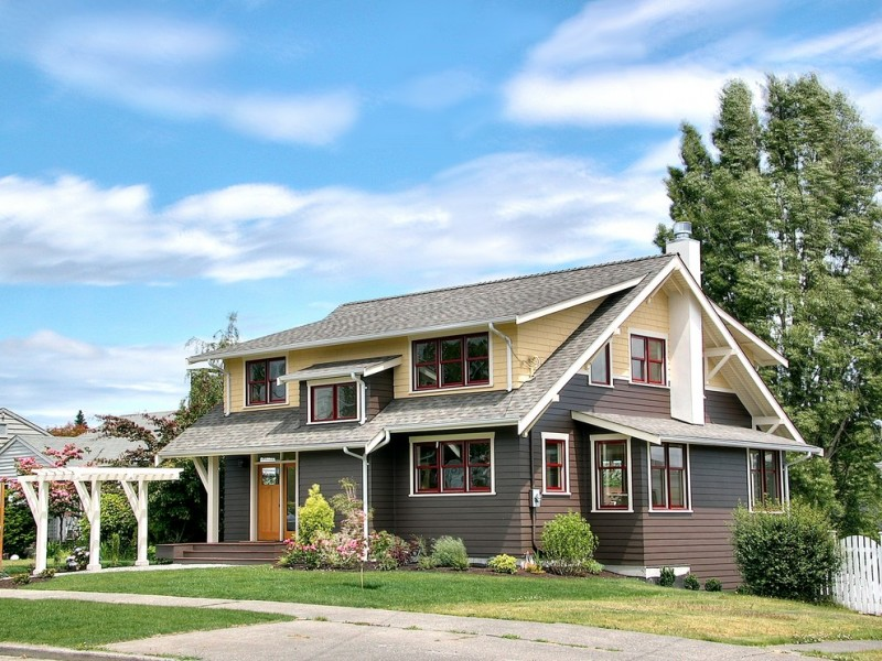 most beautiful exterior of house color combinations grass windows walls roof traditional style