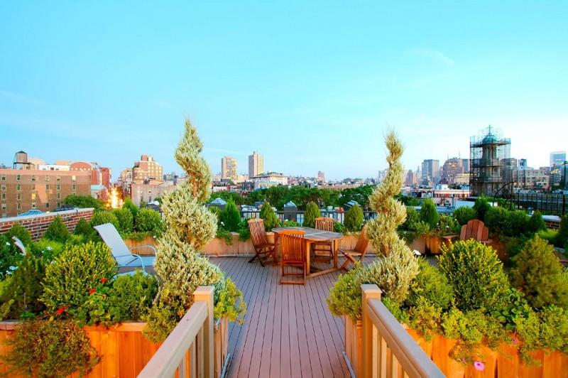 outdoor metal railing with flower design idea deck chairs table railings bricks plants