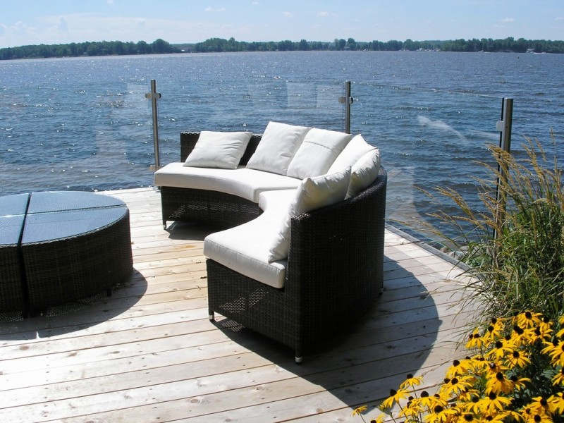 outdoor metal railing with flower design ideas sofa pillows table railing with glass yellow flowers wood deck