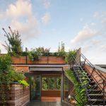 Outdoor Metal Railing With Flower Design Ideas Stairs Railings Big Floor Tile Wood Windows Flowers