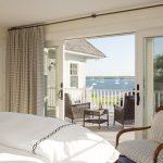 Patio Door Window Treatment High Curtain Wooden Armchair Chair Set Terrace Sliding Door