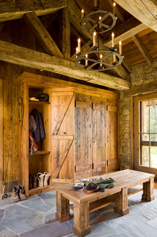 Beautiful Rustic Mud Wood Interior Designs Decohoms